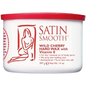 Satin Smooth Wild Cherry Hard Wax With Vitamin E