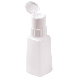 Star Nail Lockable Pump Plastic Bottle 8 oz. (ST-4