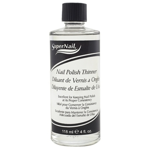 Supernail Nail Polish Thinner 4 oz. Bottle (SN3130