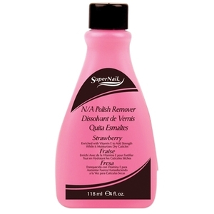 Supernail Non-Acetone Polish Remover 4 oz. Bottle