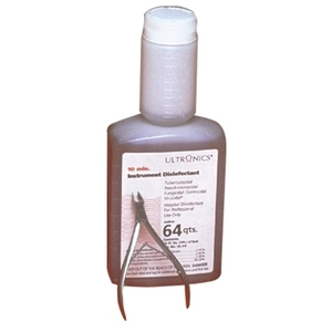 Ultronics 10 Min Instrument Disinfectant 16 oz.