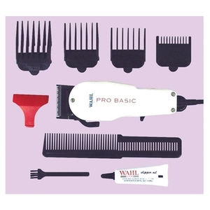 Wahl Pro Basic Clipper Set 4 Attachments (8255)
