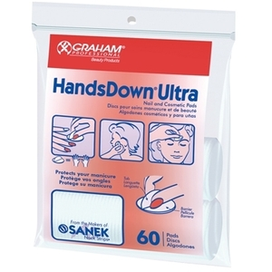 Graham Handsdown Ultra NailCosmetic Pads 60 per