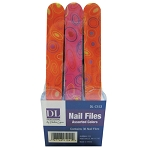 DL Professional 36 Piece Nail File Display (DL-C153)