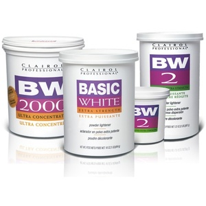 Clairol Basic White Lightener Powder / 16 oz. Tub