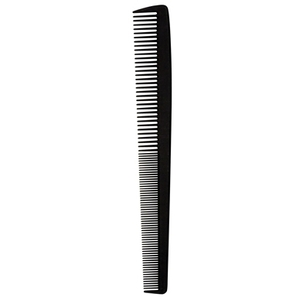 "Salonchic 7"" Barber Carbon Comb (SC9176)"