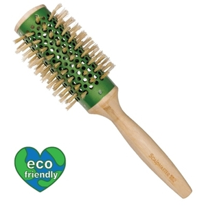 "Scalpmaster Bamboo Collation - 2-34"" Round BoarNylon Bristle Brush (SC9170)"