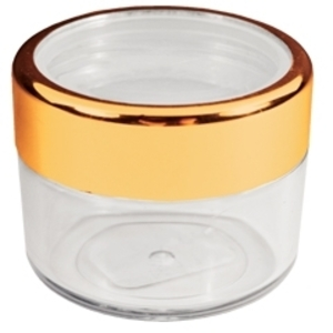 Fantasea - Twist Cap Jar with Gold Rim 0.20 oz. (FSC396)