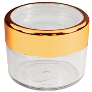 Fantasea - Twist Cap Jar with Gold Rim 0.61 oz. (FSC397)