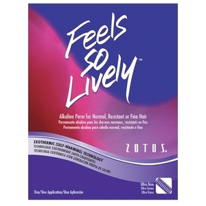 Zotos Feels So Lively - Ultra Firm Alkaline Perm for Normal Hair (FSL-965713)