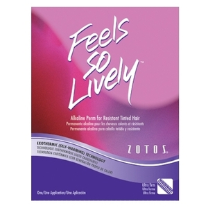 Zotos Feels So Lively - Ultra Firm Alkaline Perm for Tinted Hair (FSL-965724)