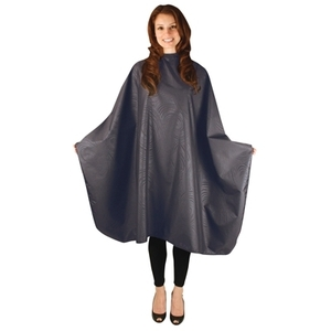 Salonchic - Bleach-Proof Multi-Purpose Cape - Charcoal Swirl (4055)