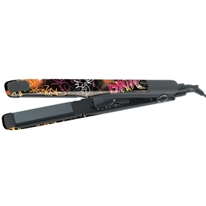 "Gold 'N Hot - Inks Ceramic 1"" Straightening Iron Graffiti Style (GH3008)"