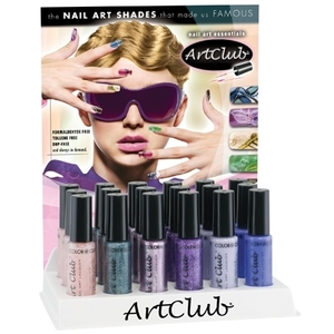 ArtClub - 6 - Color Nail Art Display 18 Piece (05DAC18-1)