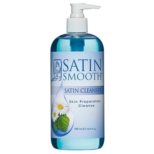 Satin Smooth - Satin Cleanser Skin Preparation Cleanse - 16.9 oz. (SSWLC16)
