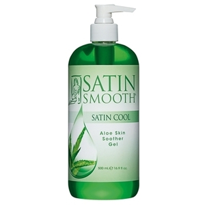 Satin Smooth - Satin Cool Aloe Skin Soother Gel - 16.9 oz. (SSWLA16)