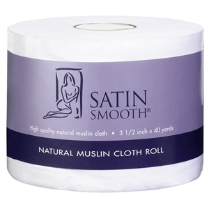 Satin Smooth - Natural Muslin Cloth Roll (SSWA10)