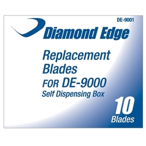 Replacement Blades For DE-9000 10 per Box (DE-9001)