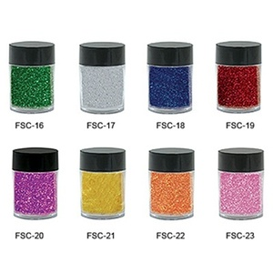 Nail Glitter Individual Jar - Dark Blue - 6 grams 0.21 oz. (FSC-18)