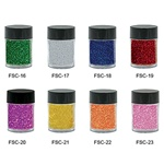 Nail Glitter Individual Jar - Yellow - 6 grams 0.21 oz. (FSC-21)