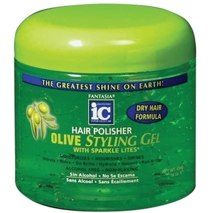 Hair Polisher Olive Styling Gel 16 oz. (FA3555)