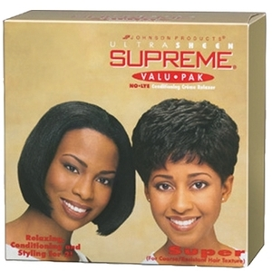 Ultra Sheen Supreme Valupak Relaxer Regular - FineNormal Hair (84802638)