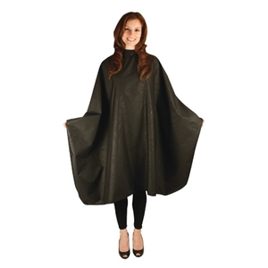 "Bleach-Proof Multi-Purpose Cape - Black Swirl 54"" x 60"" (4045)"