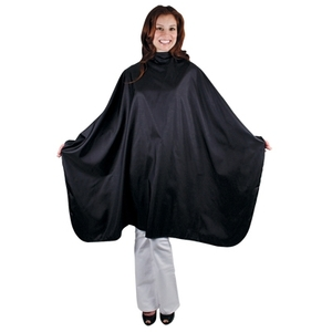 "Ultra Chic Haircutting Cape - Onyx Rain Pattern 54"" x 58"" (4038)"