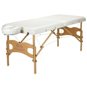 Portable WaxingMassage Table with Nylon Bag White (SSPMT)