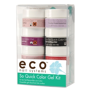 So Quick Color Soak Off Gel Kit (ST-ECO1177)