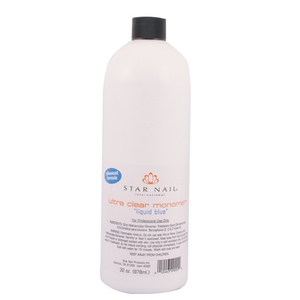 Ultra Clear Monomer Liquid Blue 32 oz. (ST-290)