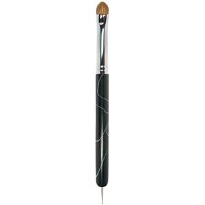 #16 Kolinsky Brush With Dotting Tool (DL-C183)