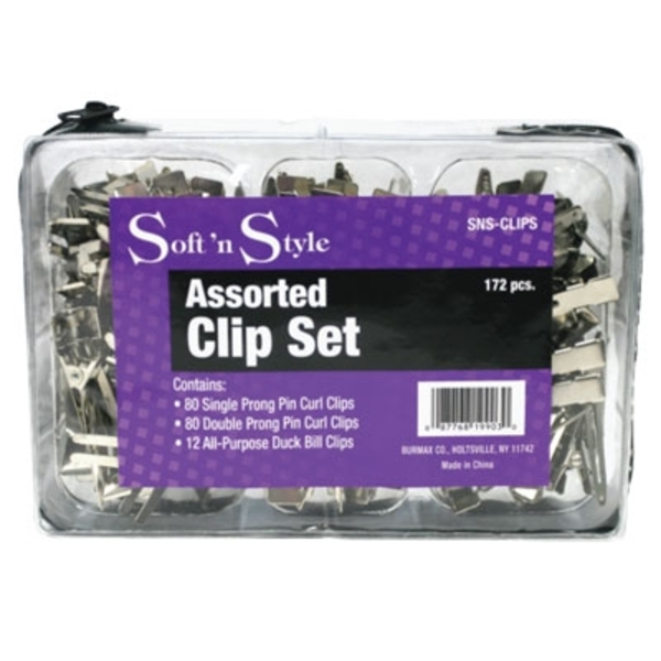 Clip & Pin Set - 172 Pieces (SNS-CLIPS)