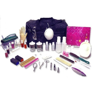 ManicurePedicure Implement And Tool Kit (123)