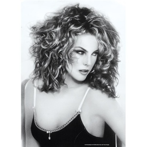 Woman with Curly Hair Poster (DB-70503)