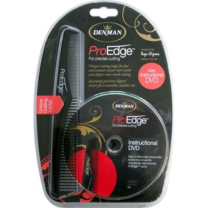 ProEdge Professional Comb and DVD Set (DPRODVDBLK)