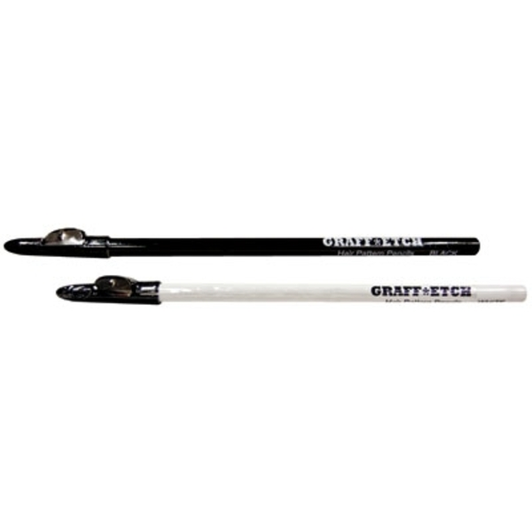 Hair Pattern Pencils - Black 8 Pencils (QP-00711)