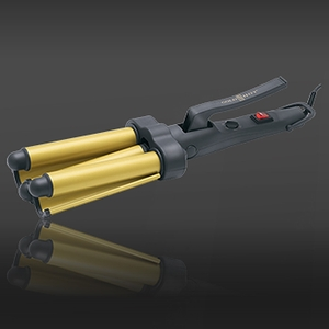 Jumbo Ceramic Triple Barrel Waver (GH3011)