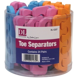 Toe Separators in a Container 24 Pairs (DL-C227)