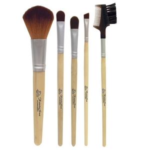 Bamboo Cosmetic Brush Set 5 Brushes (FSC665)