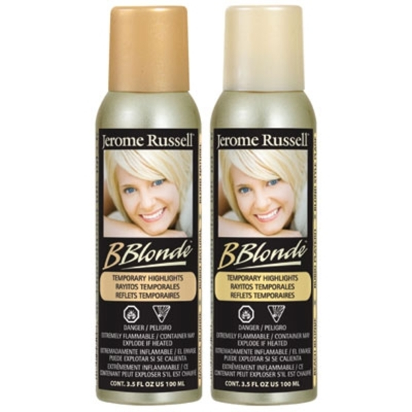 BBlonde Temporary Hair Color Spray - Beach Blonde (JRU-03508)