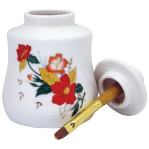 Cuticle Oil Jar with Brush (DL-C251)