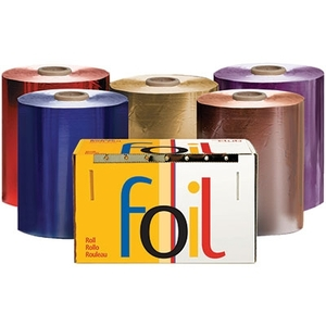 "5"" x 1200' Economy Roll Foil Dark Blue (RF5060DB)"