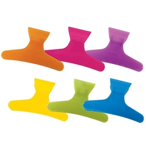"Neon Butterfly Clamps - 3-14"" Wide 36 Count (183)"