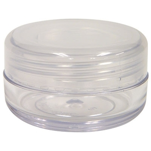 Clear Sample Jars - 10 mL.34 oz. Bag of 25 (FSC471)