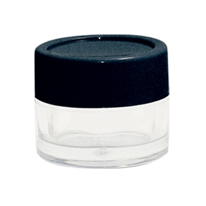 FantaSea Sample Jar / 12 mL/0.41 oz / Clear Jar with Black Cap