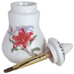 Small Cuticle Oil Jar with Brush (DL-C307)