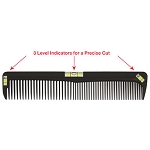 "8"" Cutting Comb With 3 Level Indicators For Precise Cuts (SC9237)"