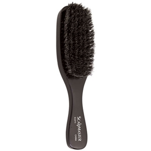 "9"" Wave Brush - 100% Natural Boar Bristles 7 Rows (SC2215)"
