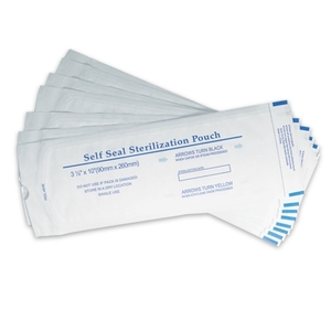 "Self Seal Sterilization Pouches 3-12"" x 10"" 200 Count (FSC-872)"
